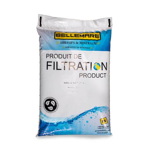 Sable filtration naturel