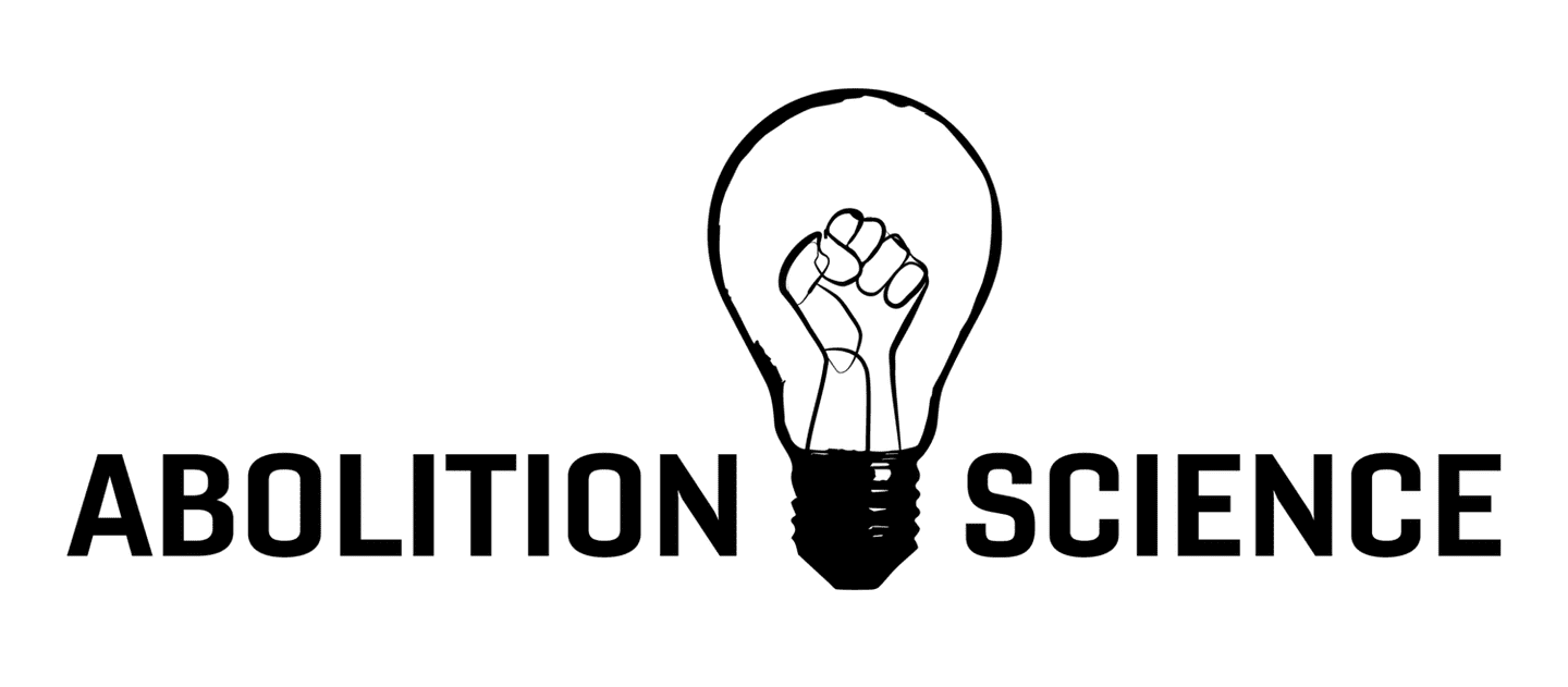 Abolition Science logo with a lightbulb