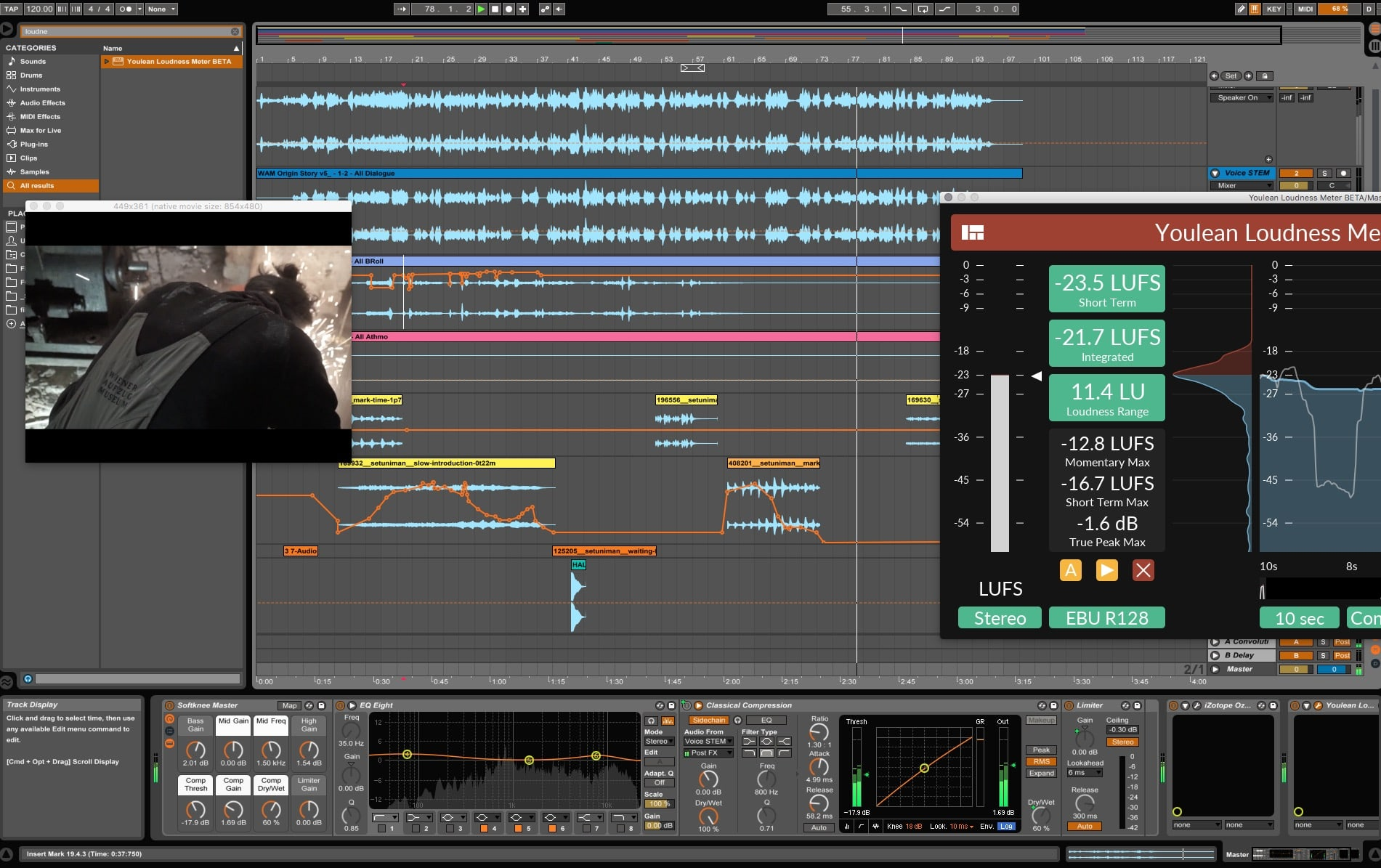 Mix in Ableton Live