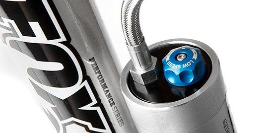Fox Performance Reservoir Shock Compression Damping Adjustment Dial