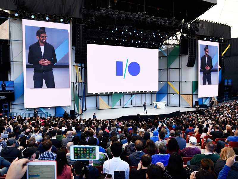 Google I/O Web App