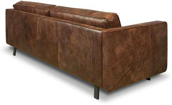 Isofa Bjorn 3 Zitsbank Leer Cognac 9200000057897623_3 180 cm