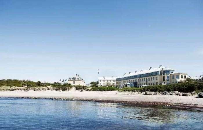 strand udsigt fra hotellet