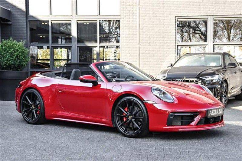 Porsche 911 4S CABRIO 4WSTURING+ST.KOELING+SP.CHRONO NP.218K afbeelding 11