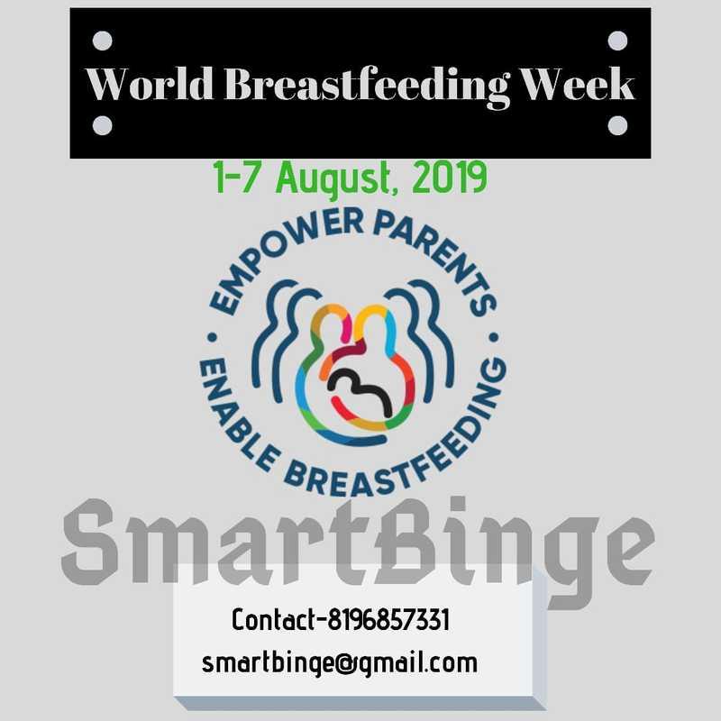 Graphic about World Breastfeeding Week