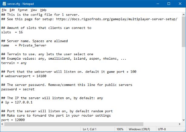 server-config-notepad