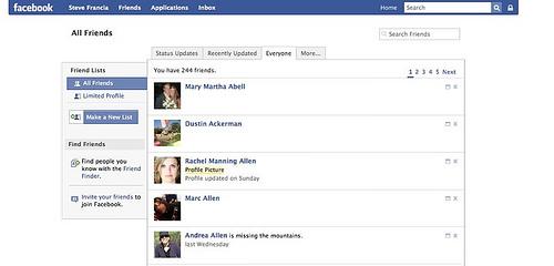 Facebook 2 | All Friends