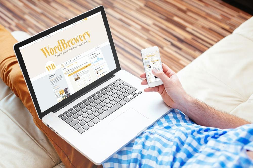 Freelance social media strategist for WordBrewery