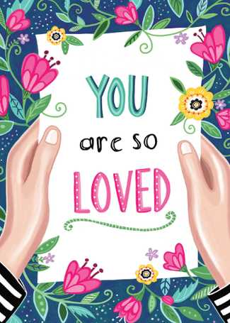You Are So Loved Card CAN