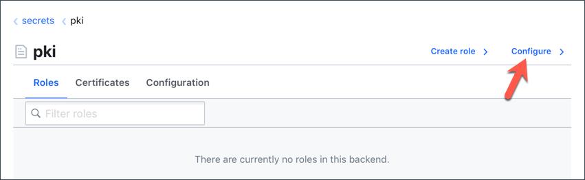 Configure URL