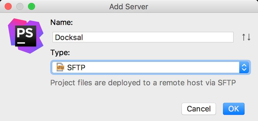 Adding a new deployment server