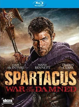 cover Spartacus: War of the Damned (S4)