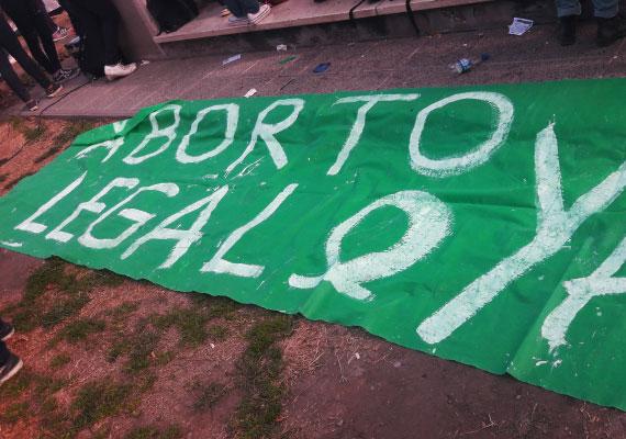 La marea verde conformada por las mujeres argentinas logró el aborto legal