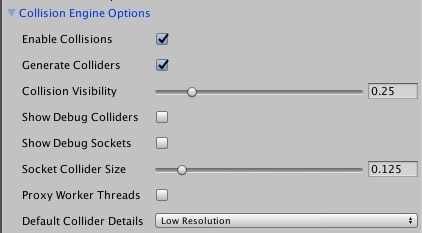 Collision Options