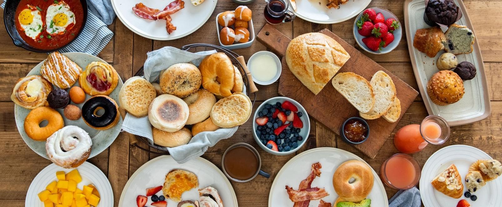 aspire foods brunch table
