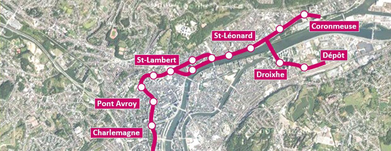 Transport & mobilité à Liège
