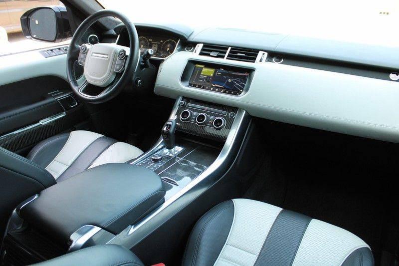 "Land Rover Range Rover Sport 5.0 V8 SVR Pano, 23"", Schaalstoelen, Carbon, afbeelding 9"