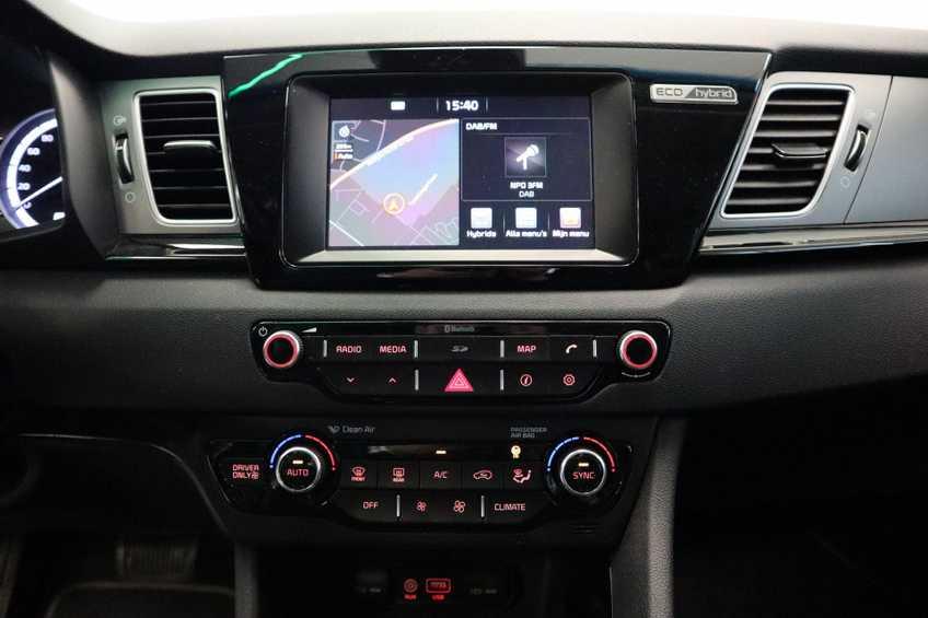 """Kia Niro 1.6 GDi Hybrid Edition Navigatie Cruise Control Camera 18""""LM *tot 24 maanden garantie (*vraag naar de voorwaarden) afbeelding 8"""