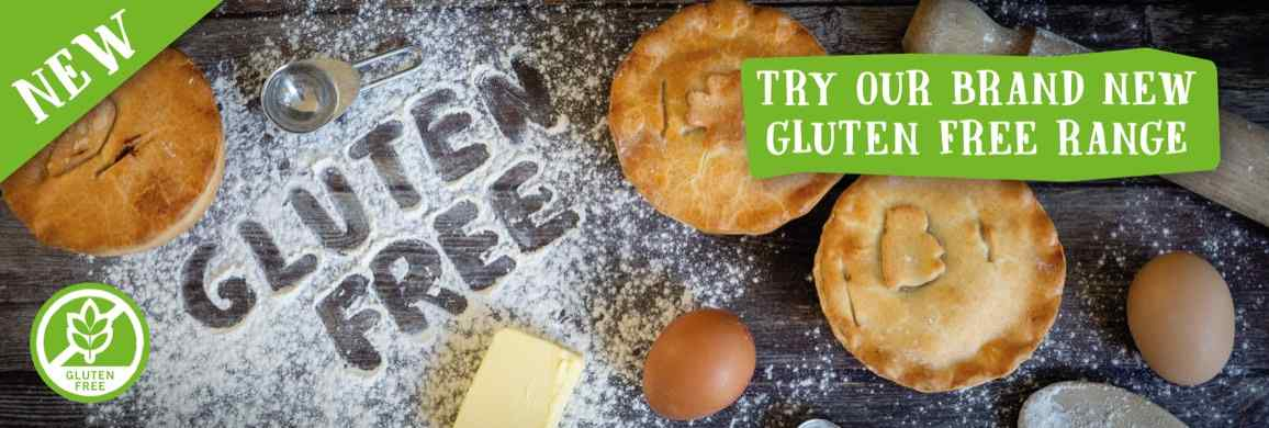 Don't compromise on taste with our new Gluten free pastry