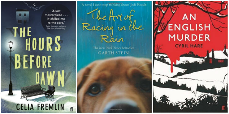 The Hours Before Dawn, The Art of Racing in the Rain, An English Murder