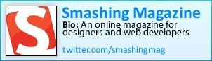 Smashing Magazine on Twitter