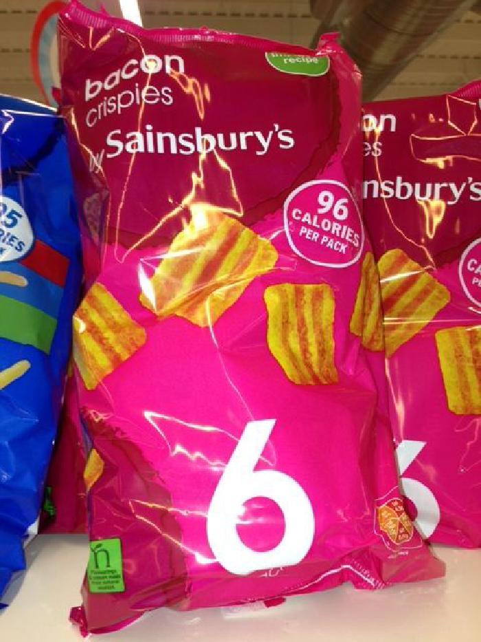 Sainsburys Bacon Crispies