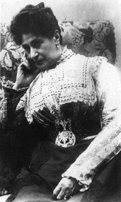 A photograph of Alexandrine Zola, Émile Zola's first wife