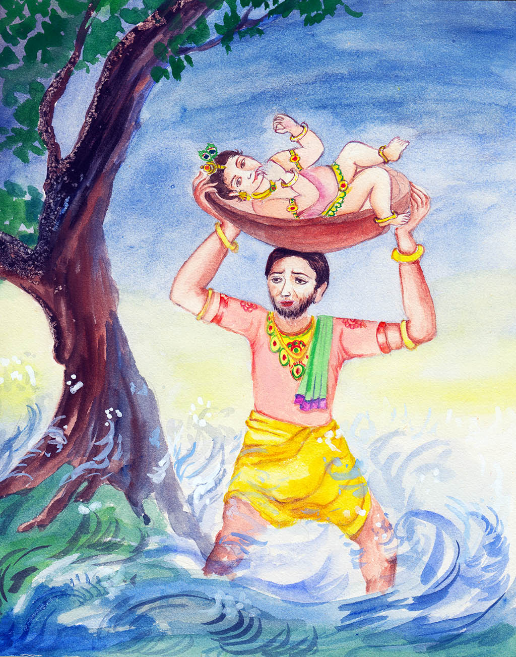 Janamashtmi-- The Day Krishna was Born