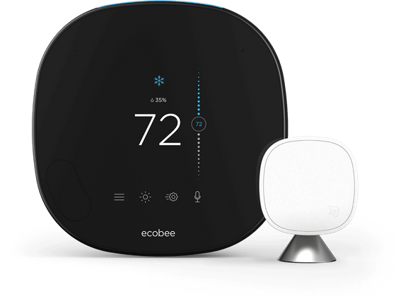 SmartThermostat with voice control with SmartSensor from the front