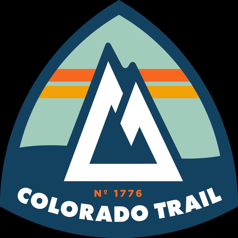 Colorado trail patch concept