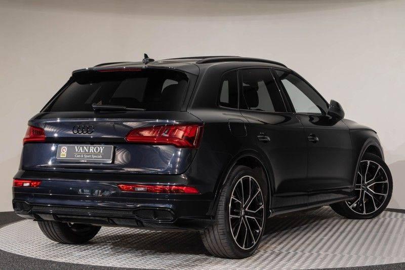 "Audi SQ5 3.0 TDI 347pk Quattro Black Edition Panoramadak Luchtvering Valconaleder B&O Keyless ACC Navi-High Matrix Camera 21""Performance Pdc Verlengde fabrieksgarantie afbeelding 8"