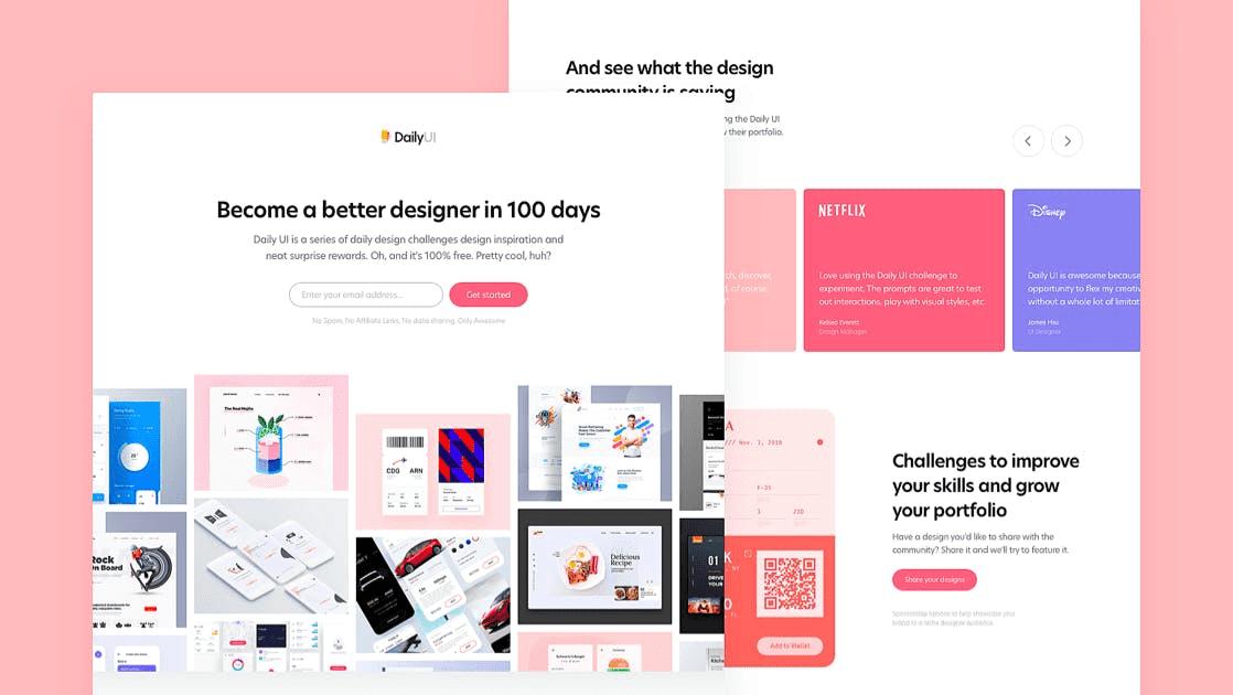 100 Day UI Challenge
