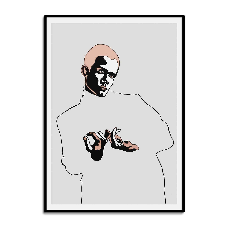 'Dark Side' Giclée Art Print