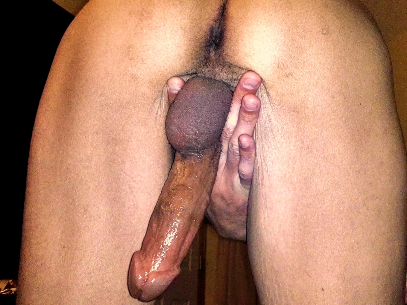 Big Hard Cock and Ass From Behind
