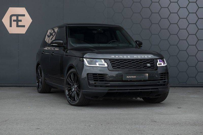 "Land Rover Range Rover 5.0 V8 SC VOGUE Black Pack Elek. Trekhaak, Head-up, 22"", Stoelverkoeling, afbeelding 8"