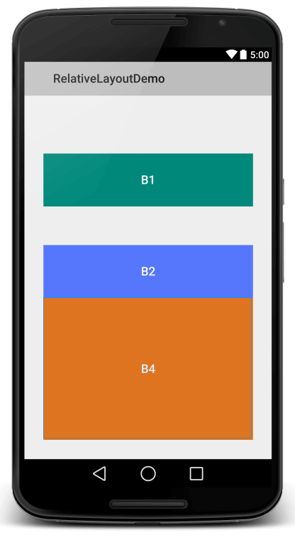 Relative Layout View4