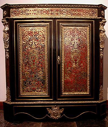 restored boule cabinet