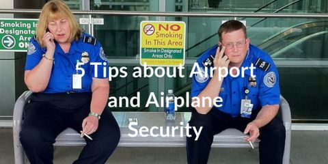 We may all love traveling, but the reality of today's world is that there are security risks, especially if you are flying. Airport Tips for the lazy.