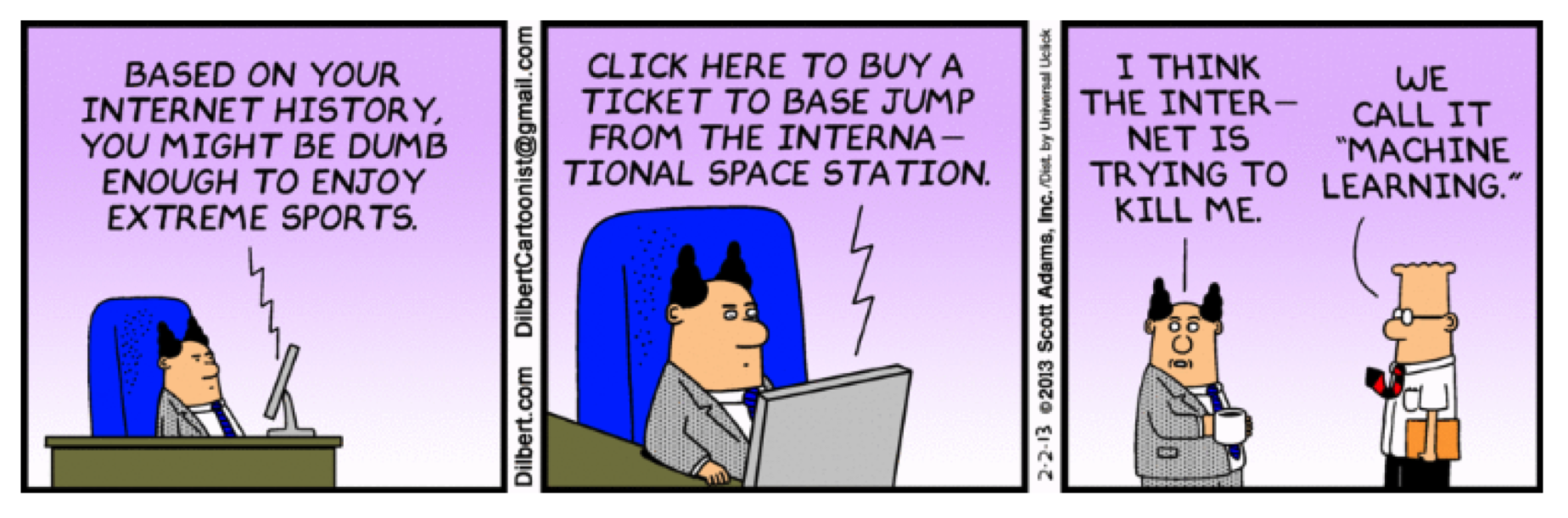 Dilbert on Machine Learning