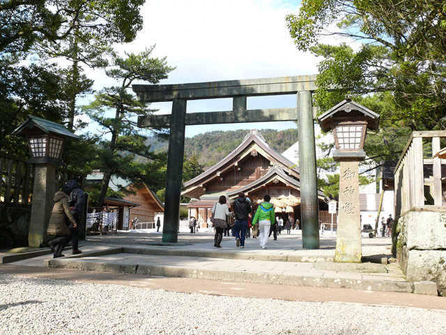 出雲大社仮殿 Temporary Honden of Izumo Oyashiro