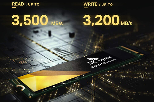 SK Hynix reveals the Gold P31 NAND Flash