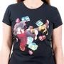 KonoSuba: God's Blessing on This Wonderful World Black Colorful T-Shirt