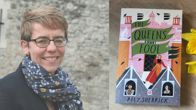 Interview with The Queen's Fool author Ally Sherrick