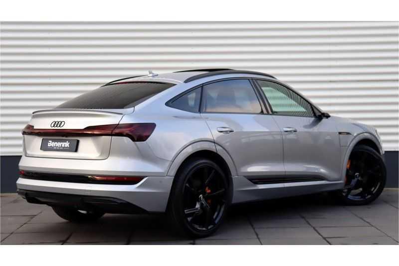 Audi e-tron Sportback 55 quattro S line excl. BTW Panoramadak, S Sportstoelen, Head Up display afbeelding 2
