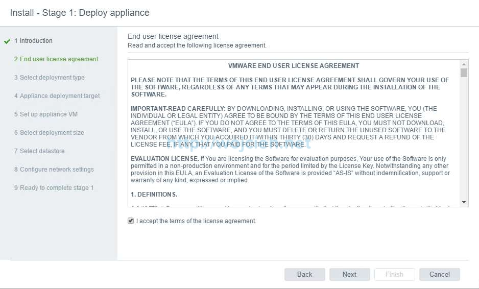 vCenter Server Appliance 6.5 with External Platform Services Controller - 21