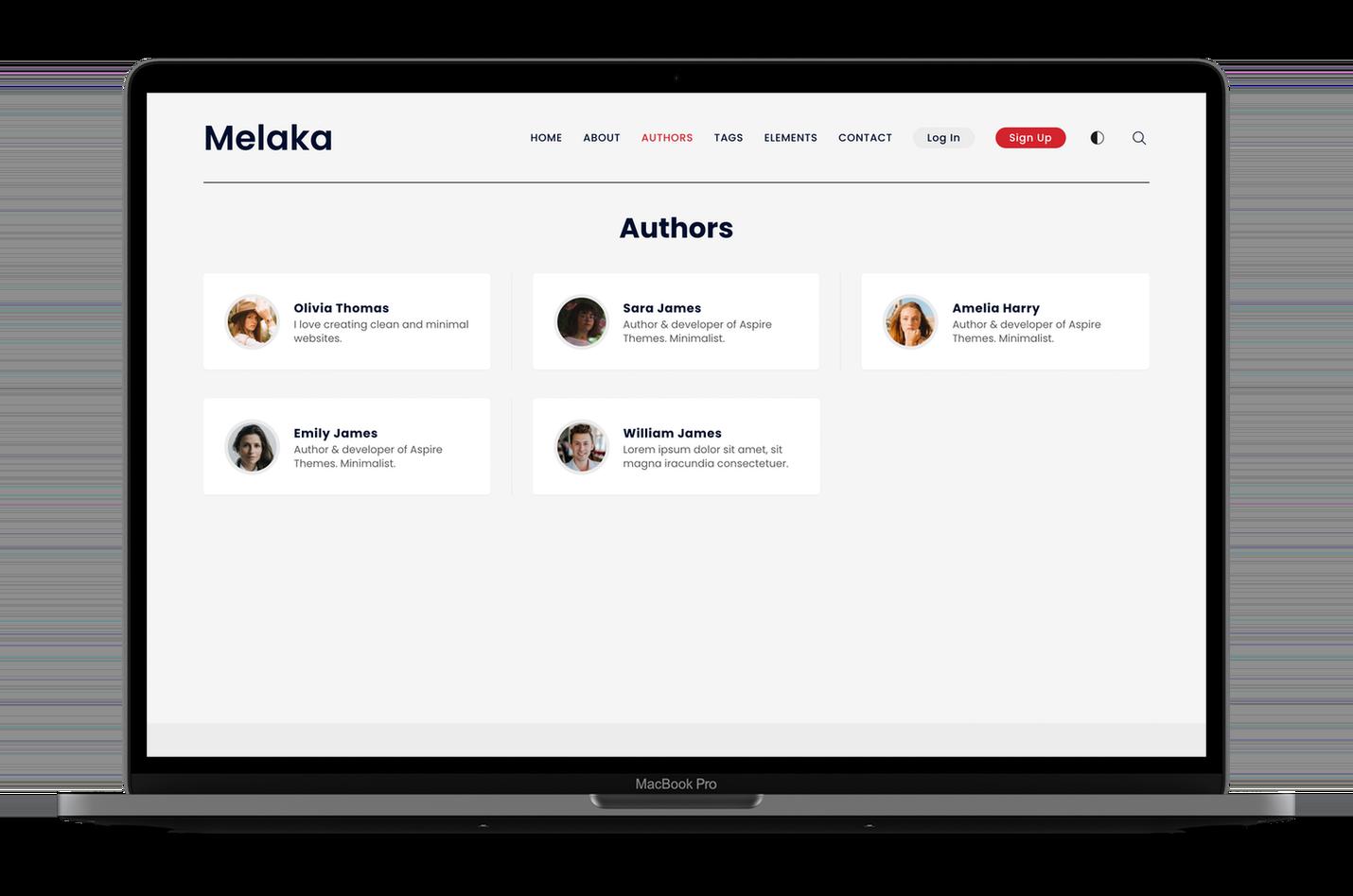 Melaka Authors Page