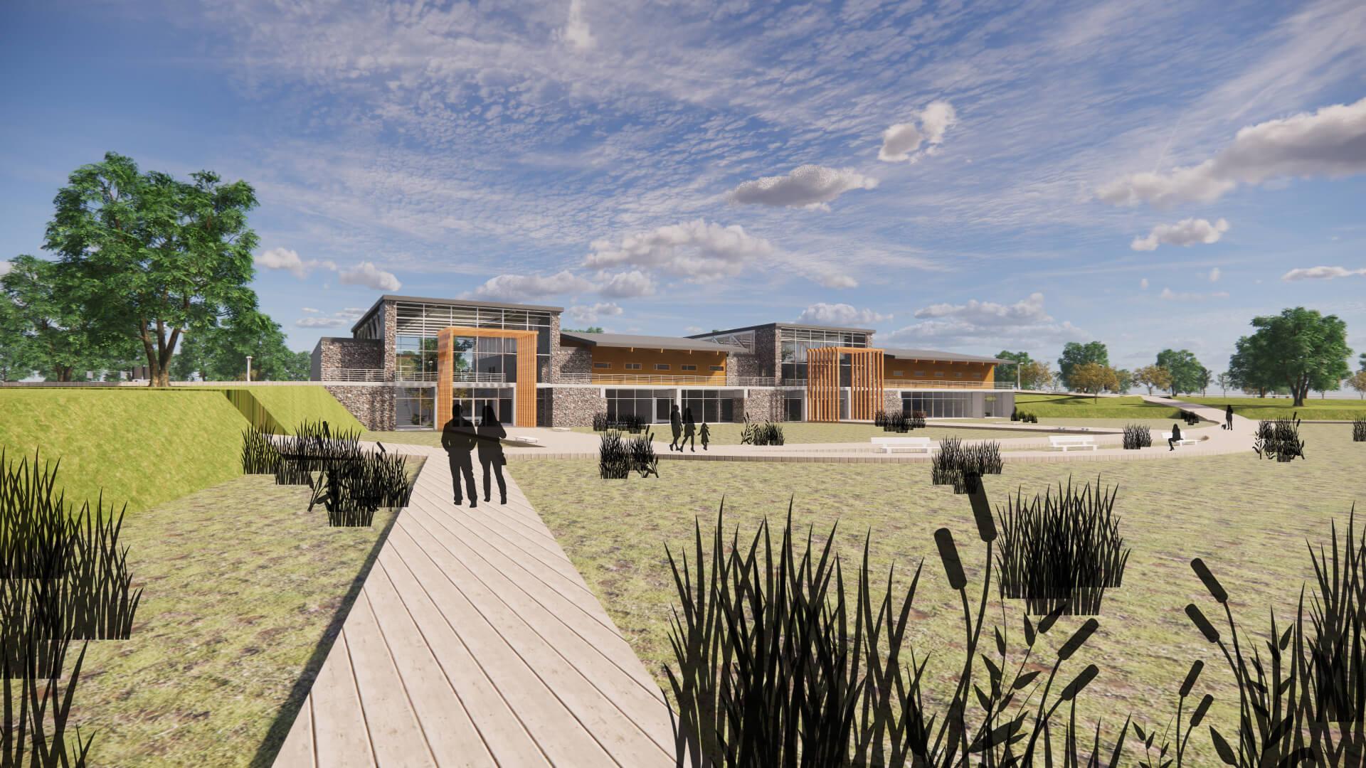 Lake Saint Clair Metropark Ecological Center