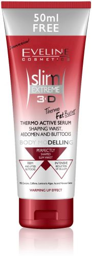 EVELINE Slim Extreme 3D Termo Aktív Alakformáló Szérum derékra, hasra és fenékre 250ml