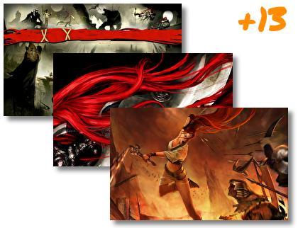 Heavenly Sword theme pack