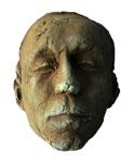 """Mille Søndergaard, Denmark. """"Masks"""" (two pieces) 2006. Ceramic"""